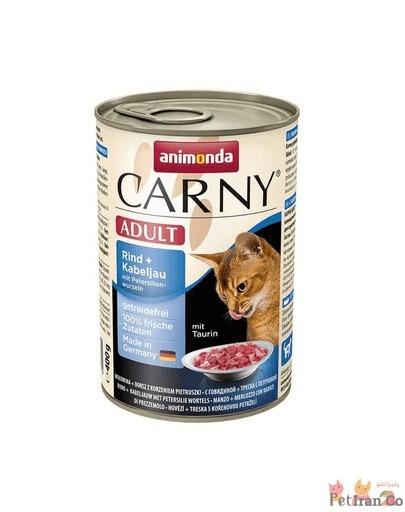 کنسر غذای مرطوب گربه