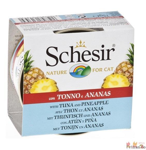کنسرو غذای مرطوب اناناس