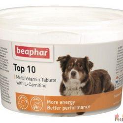 Beaphar top 10 dog مولتی ویتامین ال کارنیتین انرژی زا افزایش کارائی