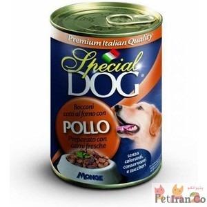 غذای مرطوی کنسرو سگ