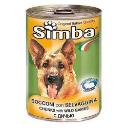 کنسرو سگ سیمبا