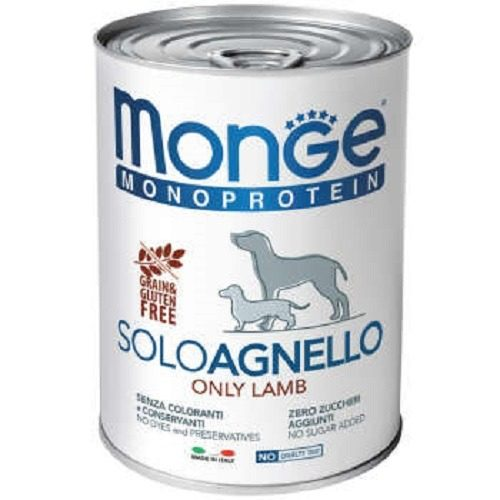 کنسرو مونو پروتئین مونژه سگ